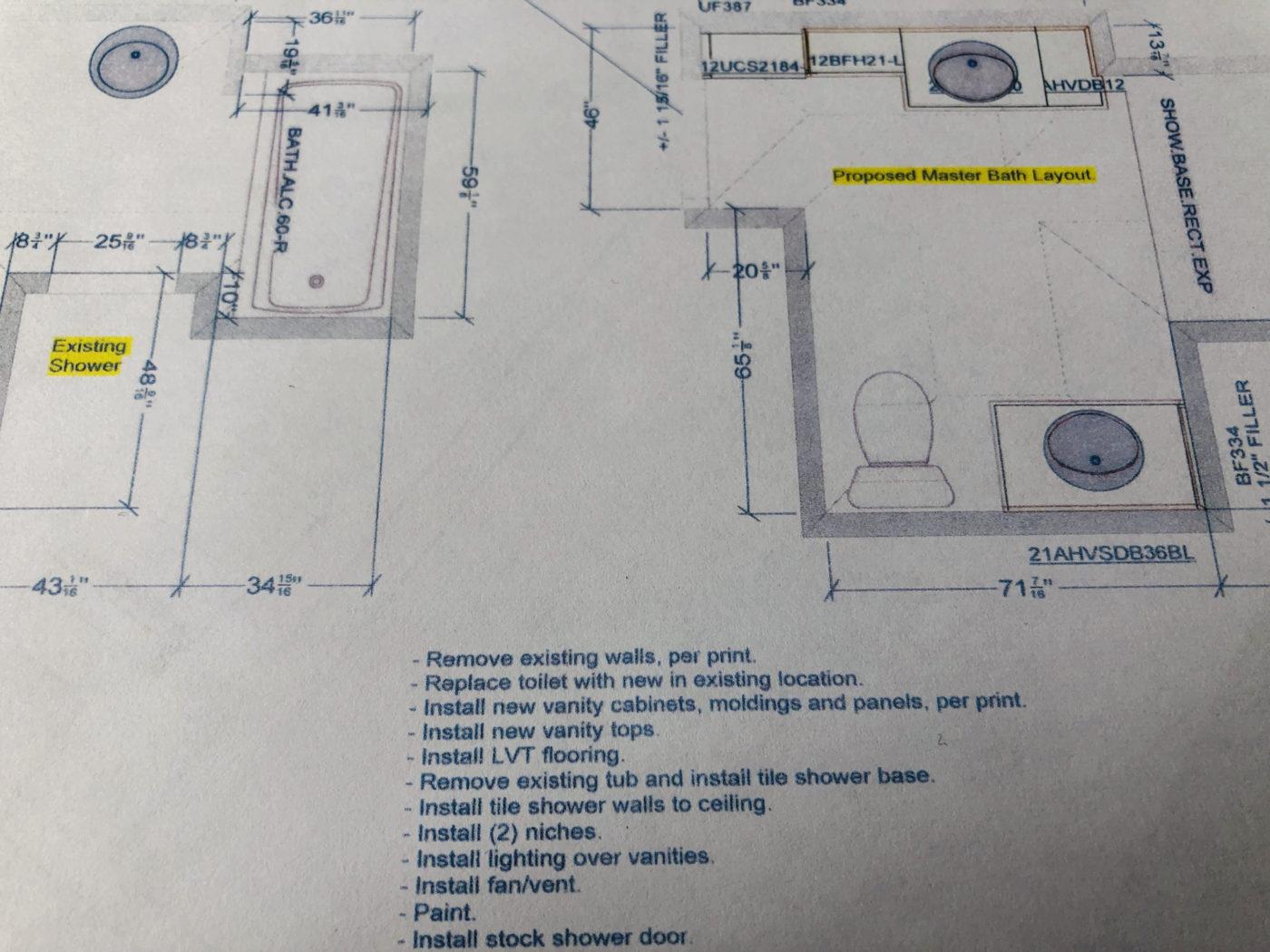 bathroom remodeler in Dublin CA